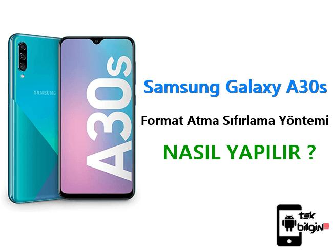 Samsung Galaxy A30s Format Atma Sıfırlama Yöntemi 23
