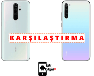 Xiaomi Redmi Note 8 64GB ve Xiaomi Redmi Note 8 Pro 64GB – Karşılaştırma