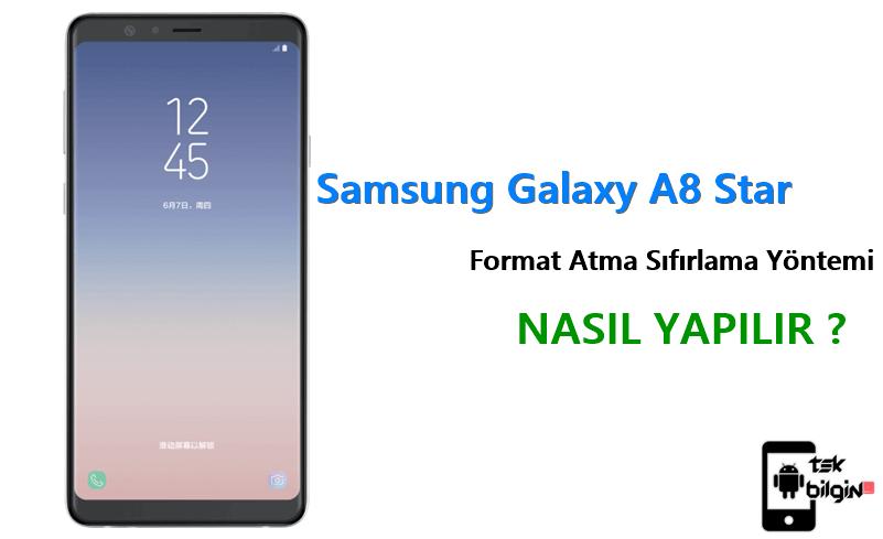 Samsung Galaxy A8 Star Format Atma Sıfırlama Yöntemi 28
