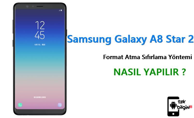 Samsung Galaxy A8 Star 2 Format Atma Sıfırlama Yöntemi 19