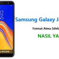 Samsung Galaxy J4 Core Format Atma Sıfırlama Yöntemi