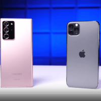 Meraklısı için, Galaxy Note 20 Ultra ve iPhone 11 Pro Max Düşme Testleri
