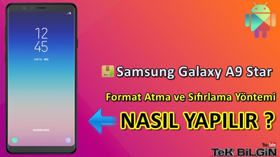 Samsung Galaxy A9 Star Format Atma Sıfırlama Yöntemi 13