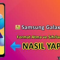 Samsung Galaxy M01s Format Atma Sıfırlama Yöntemi