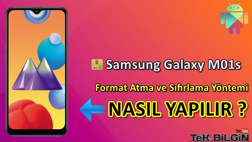 Samsung Galaxy M01s Format Atma Sıfırlama Yöntemi 25