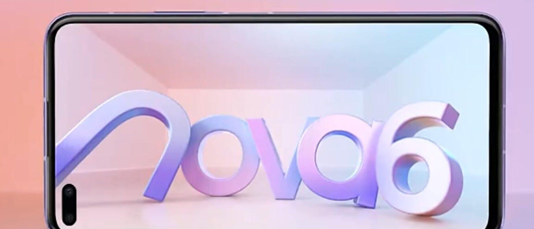 Huawei Nova 6 5G Geliyor 8