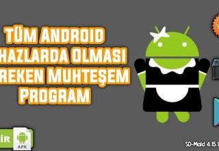Tüm Artık Verilerden Kurtaran, Mobil Cihazınızı Kendine Getiren Uygulama SD-Maid (4.15.14) | ANDROİD