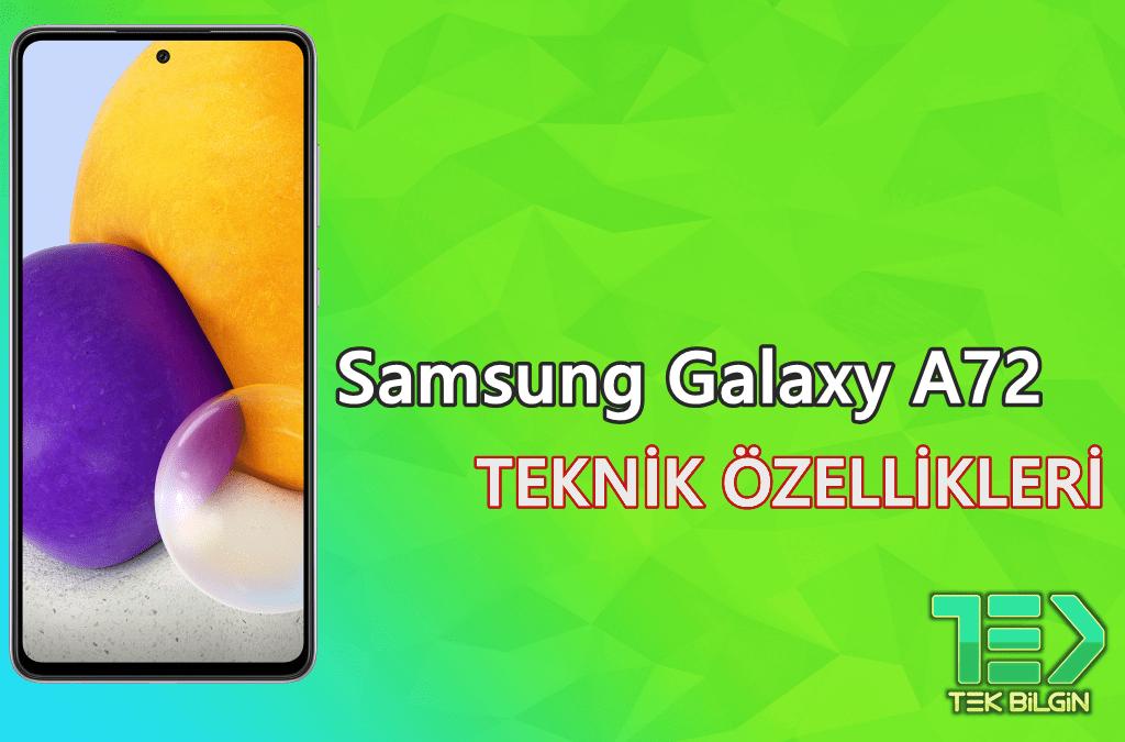 Samsung Galaxy A72 (SM-A725F) – Teknik Özellikleri 46