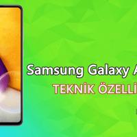 Samsung Galaxy A72 (SM-A725F) – Teknik Özellikleri