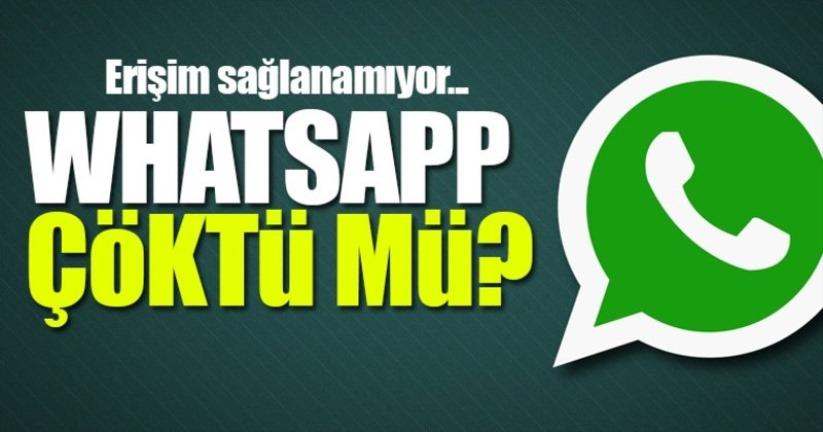 Son dakika - WhatsApp ve Instagram çöktü! İlk açıklama geldi 10