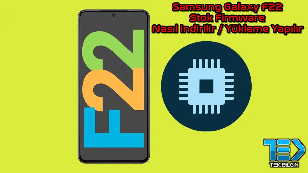 Samsung Galaxy F22 Stok Firmware Nasıl indirilir ve Yüklenir 19