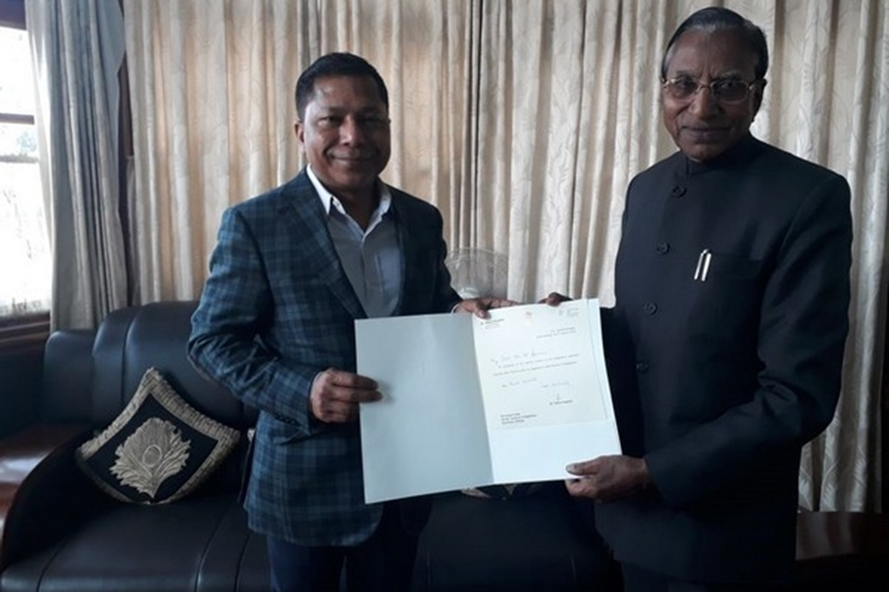 Conrad to take oath in Meghalaya today