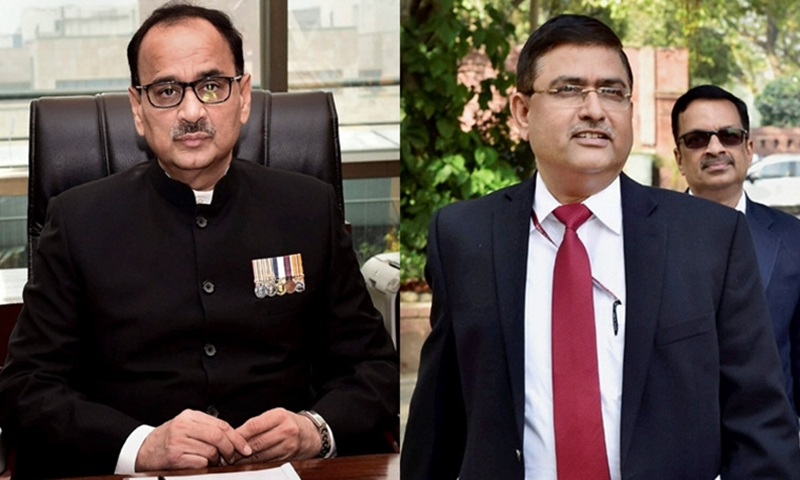 Four with Intelligence Bureau ID cards caught snooping outside Alok Verma's house