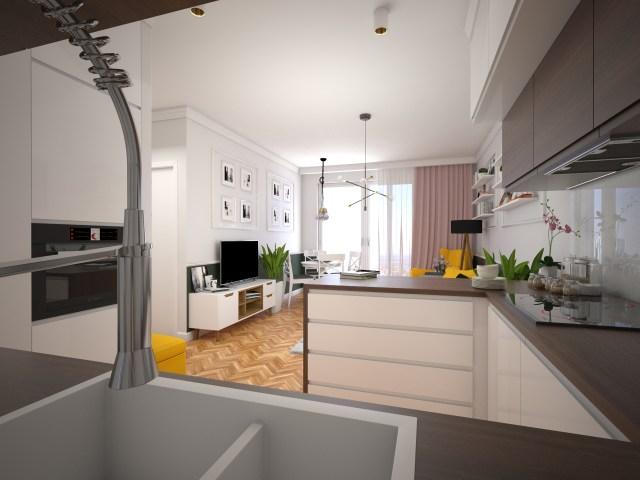 3 1 1440x1080 - Warszawa | projekt mieszkania na wynajem