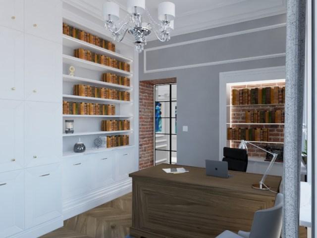 67.effectsResult - Warszawa | Projekt mieszkania w kamienicy