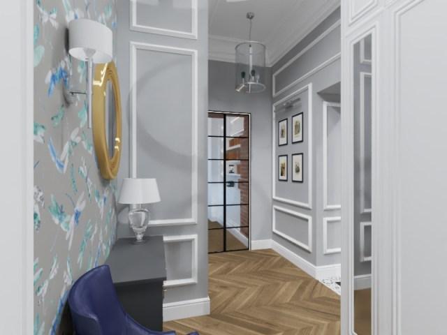 99.effectsResult - Warszawa | Projekt mieszkania w kamienicy