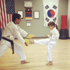Tucson Taekwondo Wellness White Belt Board Breaking