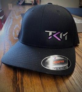 Black/Purple Flexfit Trucker