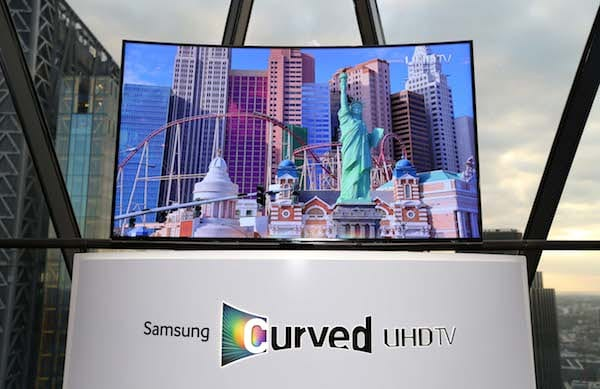 Samsung Curved UHD TV launch, Searcys at The Gherkin, LondonRex Features