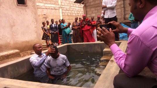Baptism in Tanga