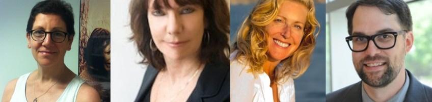 L to R: Nancy Friedland, Bette Gordon, Kathryn Hearst, Mark Newton