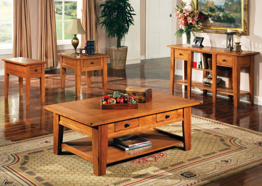 5 best solid oak coffee tables not