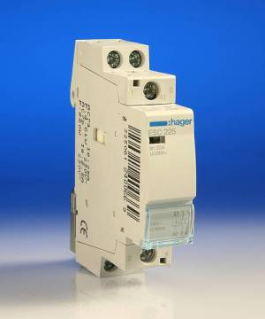 25 Amp 2 Pole Contactor  1 Module