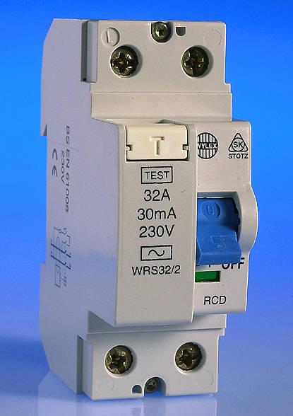 32 Amp 30ma Rcd 2 Pole