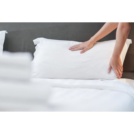 the king pillowcase a 2 pack of 100 combed cotton high quality king size pillowcases