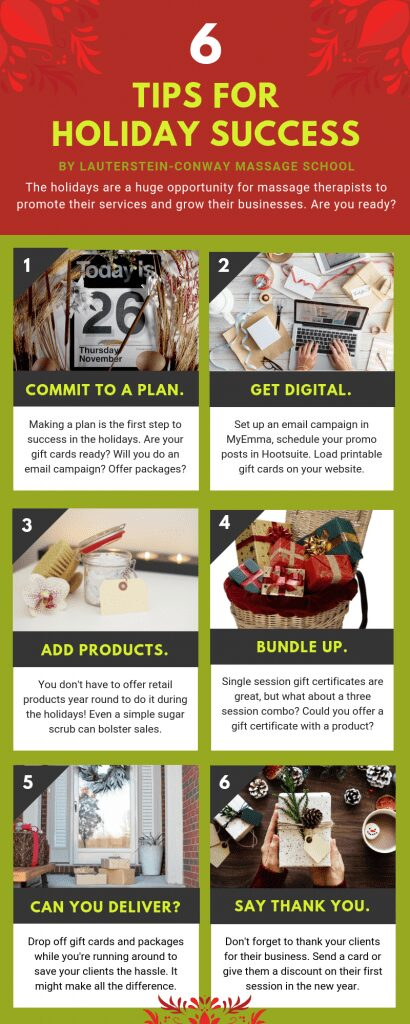 help your massage business have a successful holiday season
