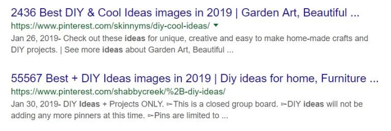 pinterest meta titles
