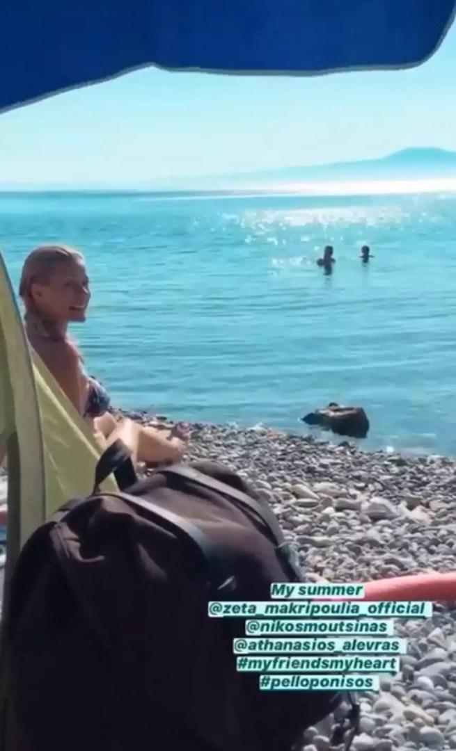 Ζέτα Μακρυπούλια: Ανέμελες στιγμές στην Πελοπόννησο με…ωραία παρέα (εικόνες)