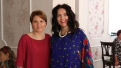 Învățătoarea Alina Terente și Corina Davidov de la Coral Plaza Mall. FOTO Adrian Boioglu
