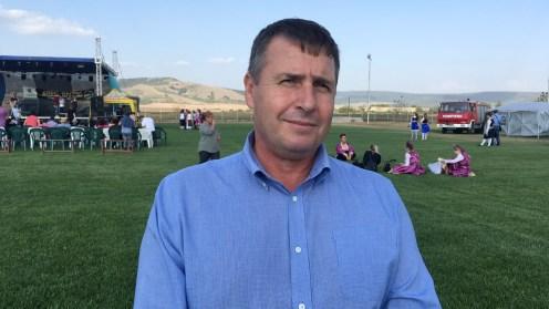 Petre Șopu, primarul comunei Cerna. FOTO TLnews.ro