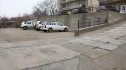 Parcare în comuna Turcoaia. FOTO Adrian Boiolglu