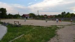 Teren de sport în comuna Greci. FOTO Tlnews.ro