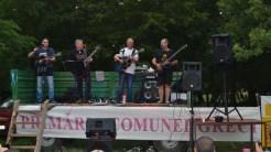 Concert la evenimentul mountain bike în comuna Greci. FOTO Tlnews.ro