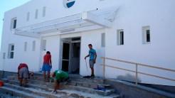Primăria Isaccea reabilitează sala de sport din oraș. FOTO Cristina Niță