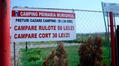 Parcul de rulote din Murighiol. FOTO Cristina Niță