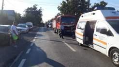Accident mortal în localitatea Văcăreni. FOTO ISU Tulcea