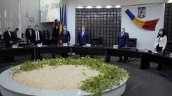 Ceremonia de învestire a președintelui Consiliului Județean Tulcea. FOTO Paul Alexe