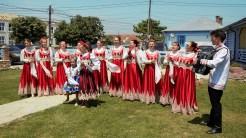 Ansamblu tradițional în Jurilovca. FOTO Paul Alexe