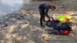 Bărbat înecat la Tulcea. FOTO ISU Tulcea