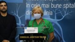 Dr. Nicoleta Zamfir, șef Secție Cardiologie - Spitalul Județean Tulcea. FOTO Adrian Boioglu