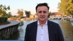 Cătălin Țibuleac, președintele Asociației Delta Dunării. FOTO Adrian Boioglu