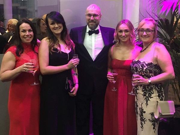 Anita, Kate, Martyn, Holly, Jenny