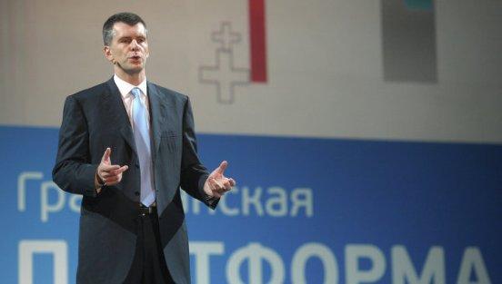Новости Тольятти - Михаил Прохоров вступил в собственную ...