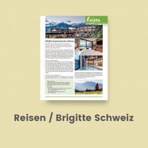 Reisen Brigitte Schweiz