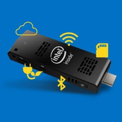 מחשב זעיר Intel Pocket PC 2GB 32GB Win10 בעל מעבד INTEL Quad Core Z3735F, זיכרון 2GB, נפח אחסון גדול של 32SSDGB ומערכת הפעלה Dual Boot Windows 10 + Android 4.4.4.