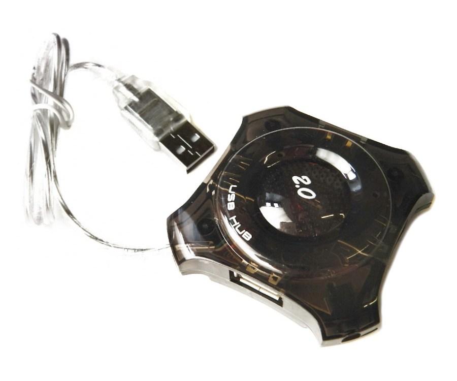 מפצל 4 כניסות Gold Touch USB 2.0